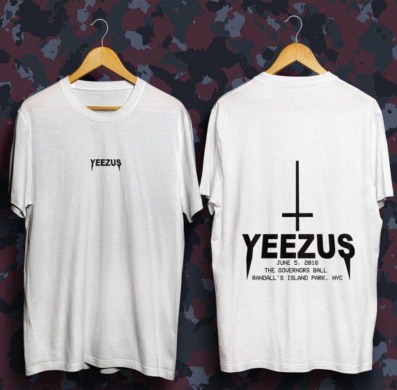 Yeezus Tour Tshirt Life Of Pablo Kanye West Shirt Yeezus Tour Kanye 2020 Kanye West Tshirt Kanye West T Shirt Yeezy T Kanye West Shirt Yeezus Shirt Yeezus