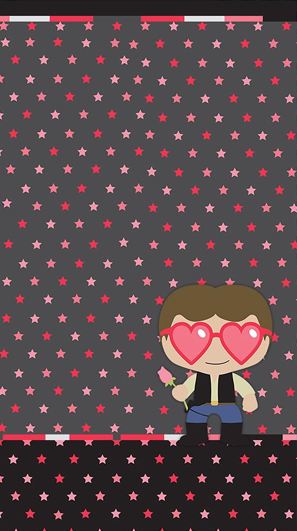 Han Solo Valentine Wallpaper Star Wars Wallpaper Valentines Wallpaper Love Wallpaper