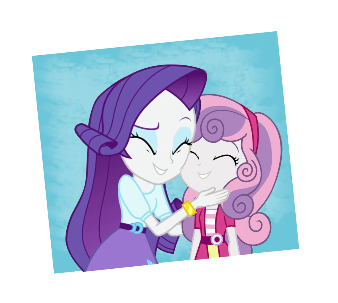 Equestria Girls Rarity And Sweetie Belle