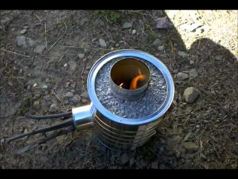 how to make your own wood burning stove