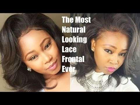 Lace Frontal Sew In Weave On Natural Hair No Glue Los