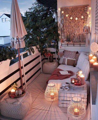 1001 Ideas De Crear Una Terraza Chill Out En Tu Casa Balcony Decor Small Balcony Decor Apartment Balcony Decorating