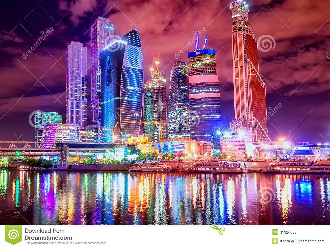 Città Di Mosca Entro La Notte - Scarica tra oltre 59 milioni di Foto, Immagini e Vettoriali Stock ad Alta Qualità . Iscriviti GRATUITAMENTE oggi. Immagine: 41924633
