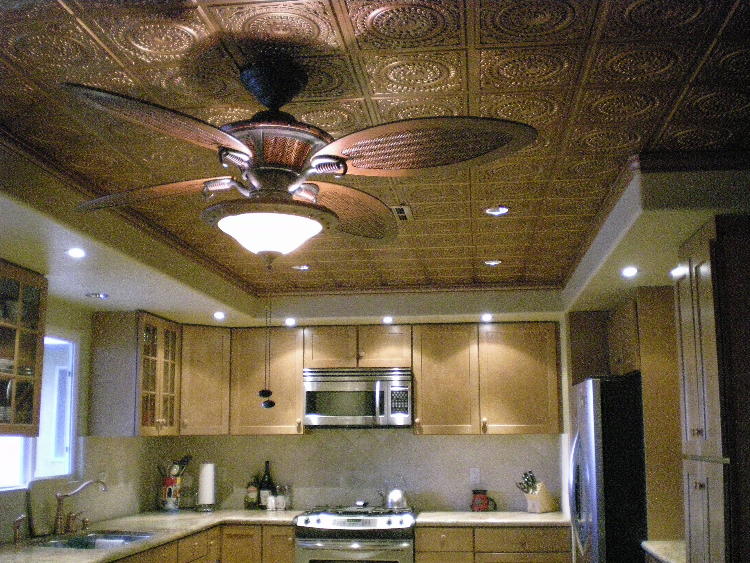Pvc Faux Tin Ceiling Tiles Ceilings Walls Backsplash Photo