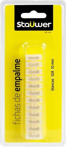 Blister regleta de empalme de 10 A (10mm) blancas #tecnologia #ofertas #ordenadores #tablet Visita http://www.blogtecnologia.es/producto/blister-regleta-de-empalme-de-10-a-10mm-blancas