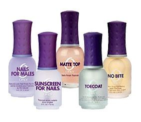 Orly Assorted Clear Base Nail Polish.