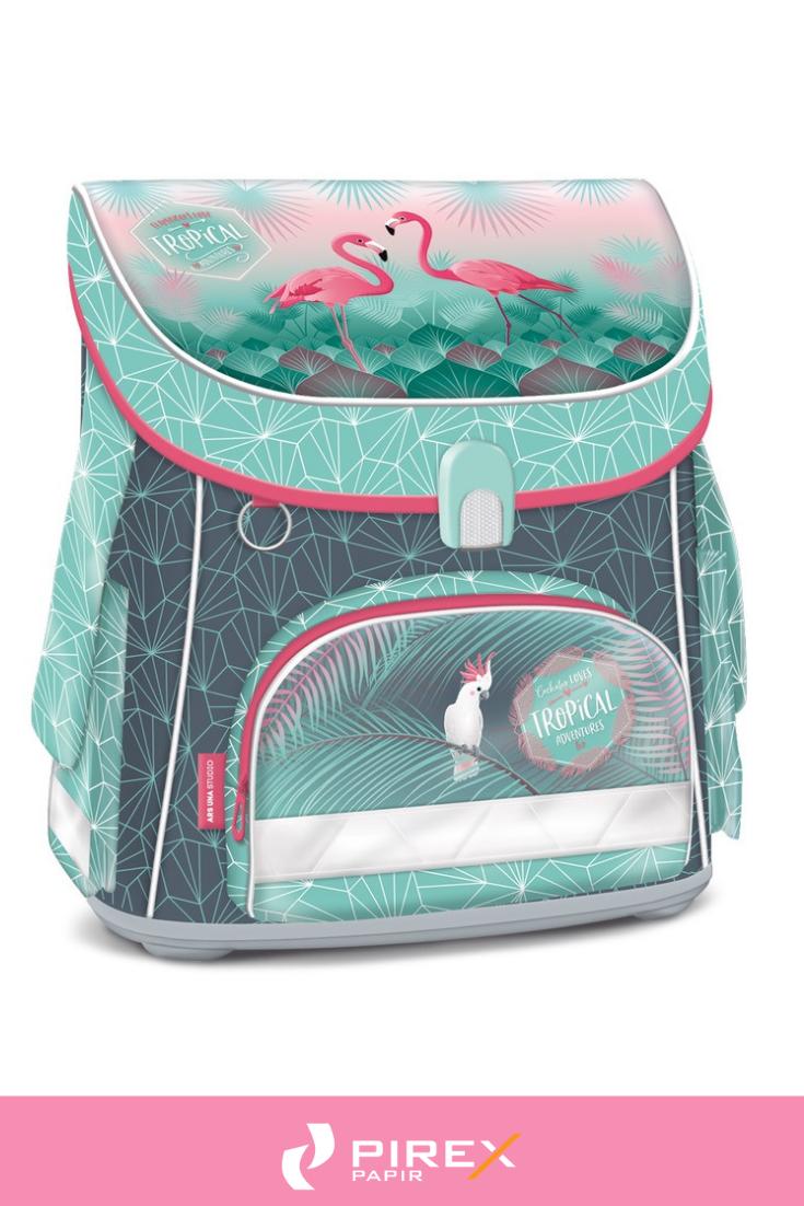 8e17780cb5be Iskolatáskák, tornazsákok - Ars Una kompakt mágneszáras iskolatáska Pink  flamingo #arsuna #iskolatáska #kislány #iskolakezdés #suli #flamingó  #trópusi # ...