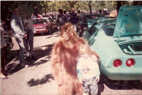 Scary Alf costume
