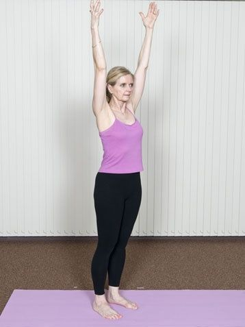 3 Easy Yoga Moves to Calm Your Midday Stress Outs #workout www.ivillage.com/...