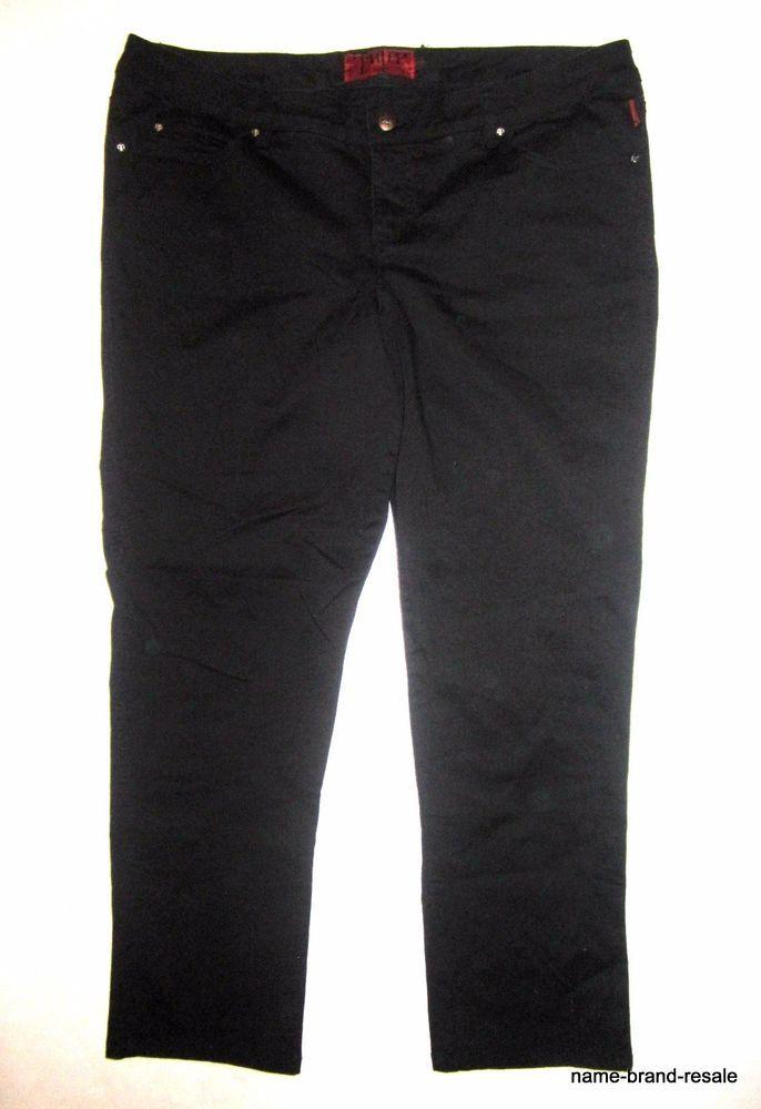 d22c218e4f205 TORRID TRIPP NYC Black Wash Skinny Jeans Pants Womens Plus 20S 20 Short  Stretch #TRIPPNYC #StraightLeg