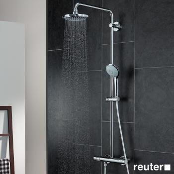 grohe euphoria colonne de douche avec mitigeur thermostatique case mari si mici pinterest. Black Bedroom Furniture Sets. Home Design Ideas