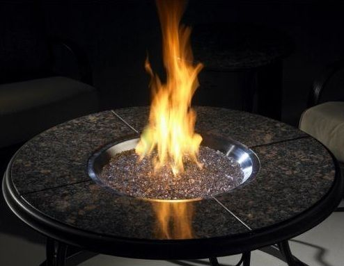 42 Chat Granite Fire Pit Table Portablefireplace Gas Fire Pit Table Granite Fire Pit Fire Pit Table