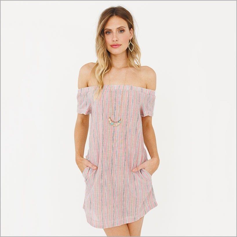 7c2d6f225cae Cay Off the Shoulder Tunic Dress. Ipanema