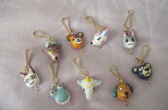 Choose Any Animal Crossing Villager Charm von AngelicKittyCrafts