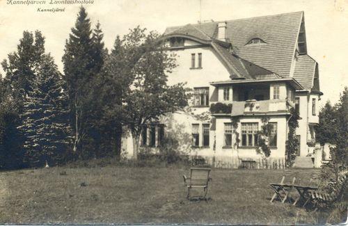 Kanneljärvi luontaishoitola.  Музей Южной Карелии.