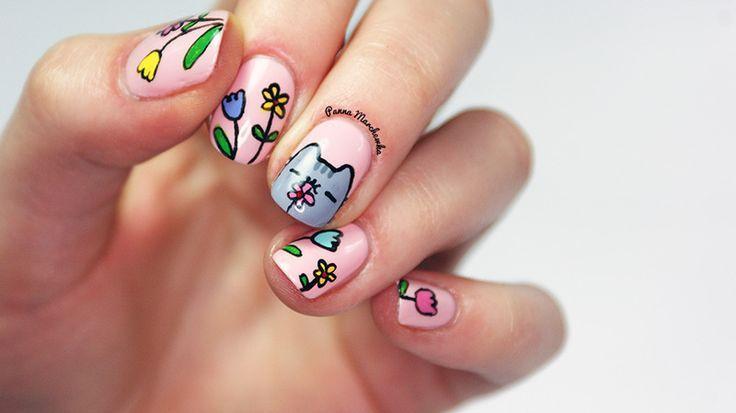 Открытки новый, прикольные рисунки для маленьких ногтей