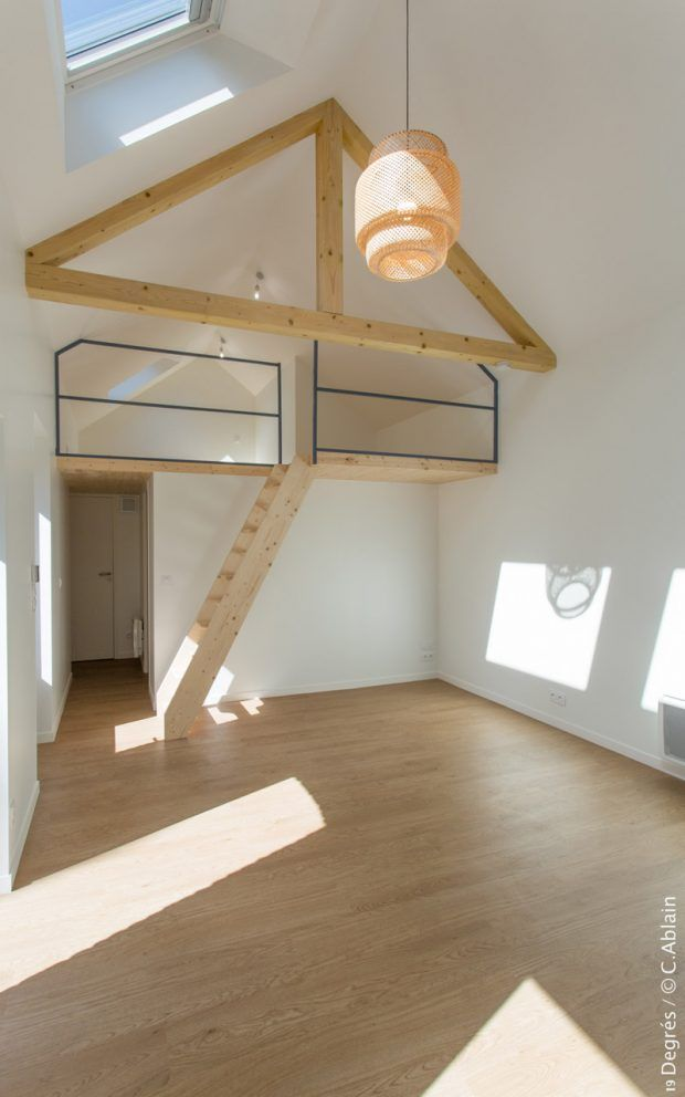 am nagement petits espaces mezzanine suspendue spa 2 t2. Black Bedroom Furniture Sets. Home Design Ideas