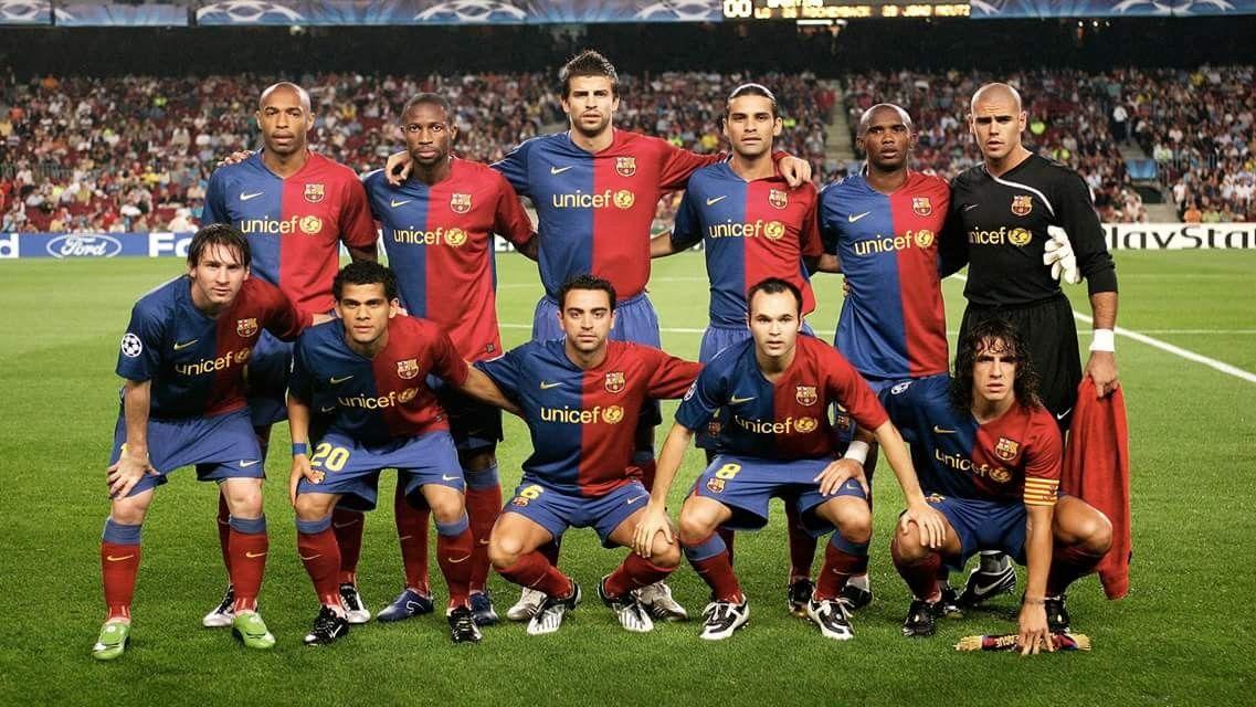 Barcelona Fc Line Up 2009