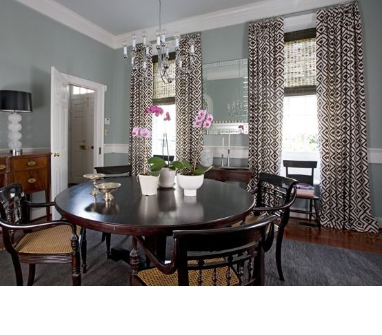 Dining room by Angie Hranowsky. Love it!