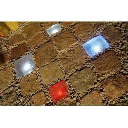 Photo of Top Light Pflasterstein Light Stone Cristal 10x10x6cm, Led Weiß 0,3W Light Stone 1x 0,3 Watt, weiß 1