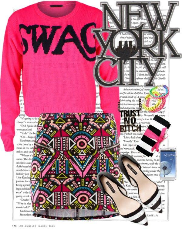 """Swag"" by fashionslavebyc on Polyvore"