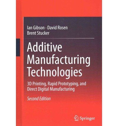 Download Free Additive Manufacturing Technologies 3D Printing Rapid Prototyping And Direct Digital