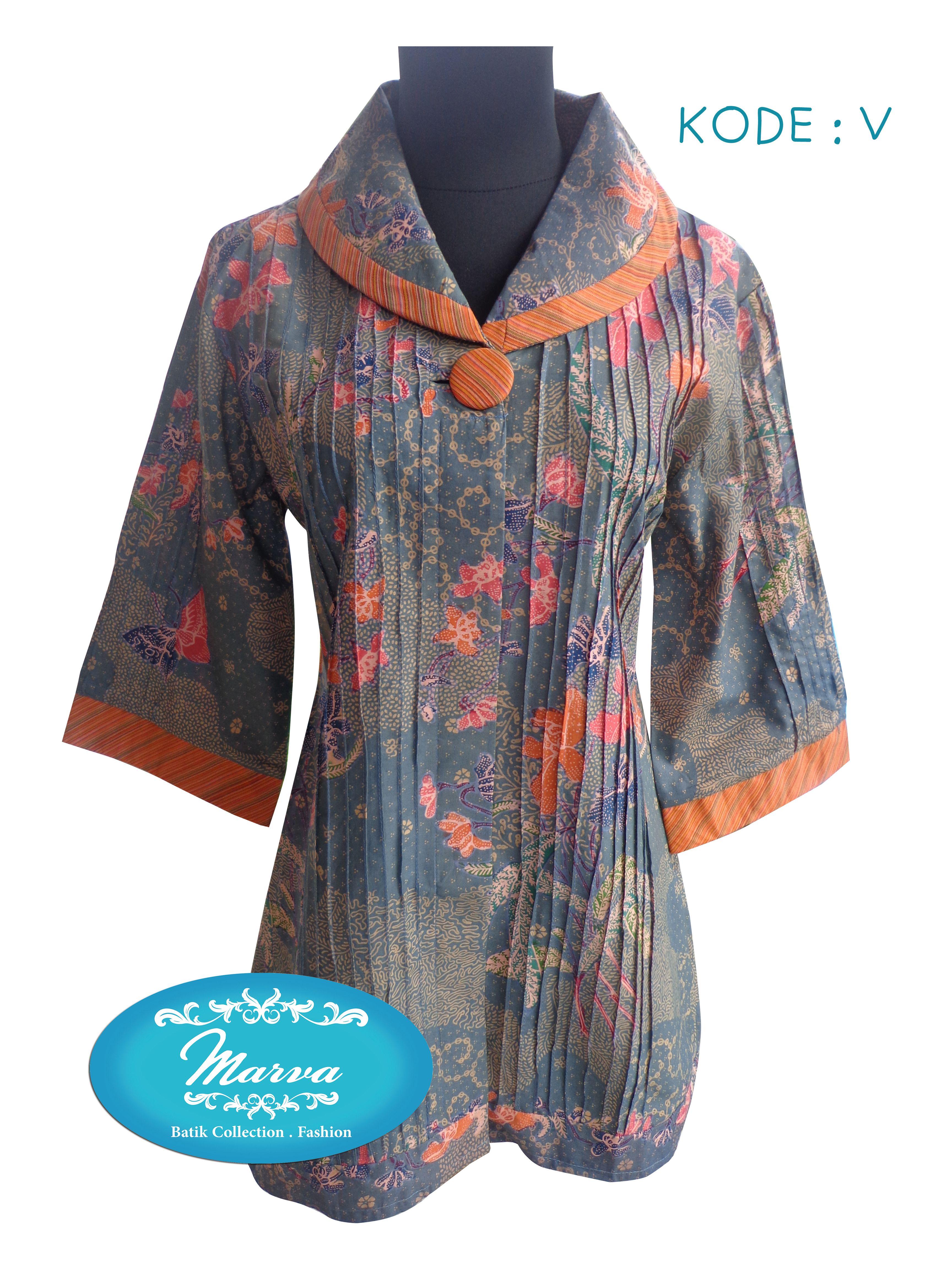 blouse opnesel NBL Kode V size S pjg baju 73cm lingk dada 90cm price 235K Seragam batik