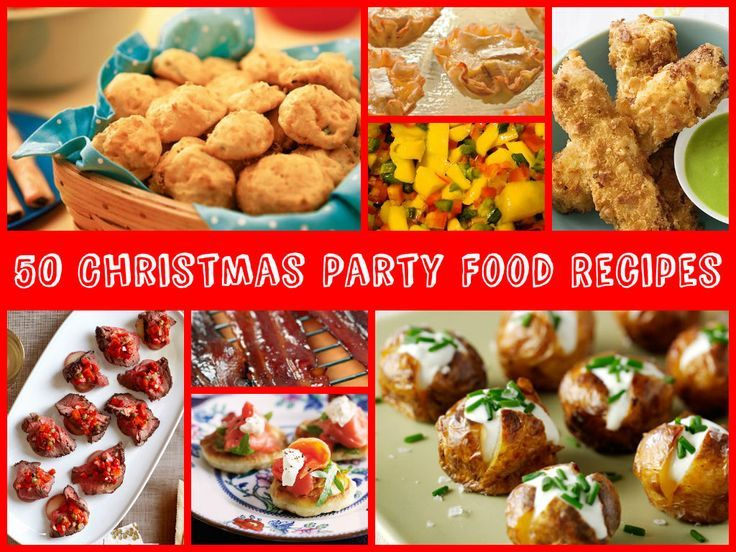 50 Christmas Party Food Recipes including baked cheese olive balls, 50 Christmas Party Food Recip