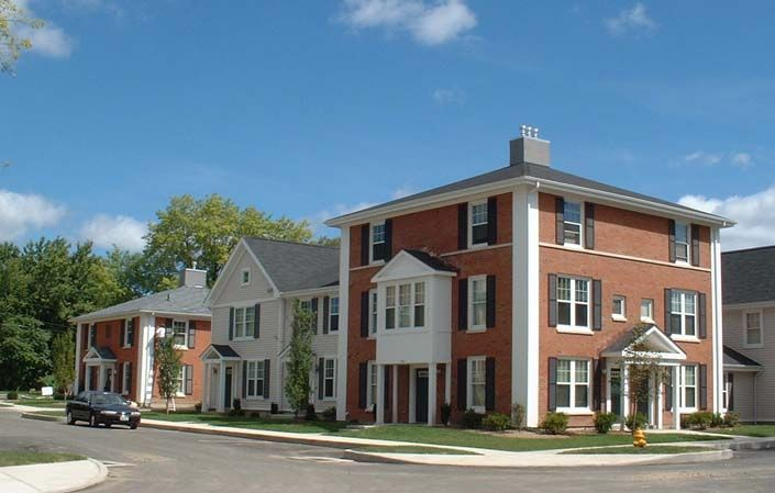 Small Apartment Building Rssc Architects Southfield Village Small Apartment Building Apartment Building Small Apartments