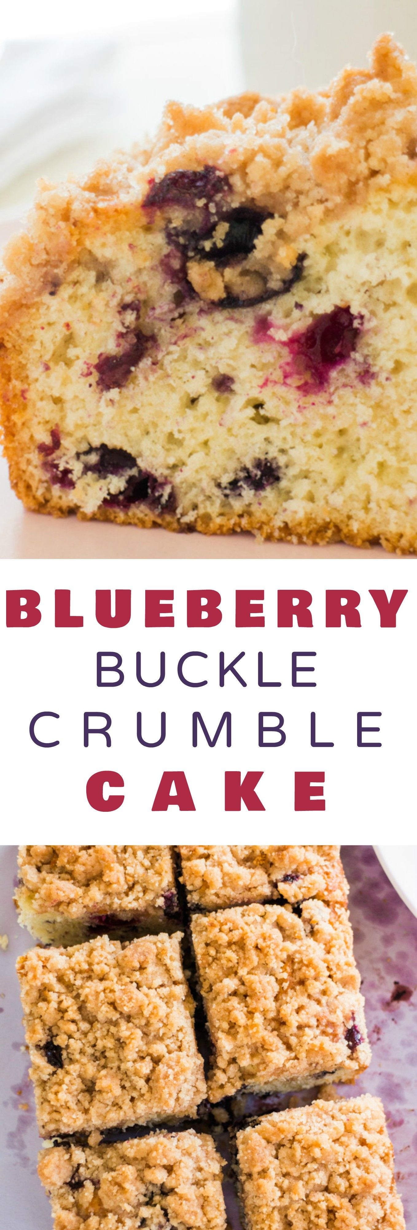 Blueberry Buckle Crumble Cake | Recipe | Moist cakes, Streusel topping and Coffee cake