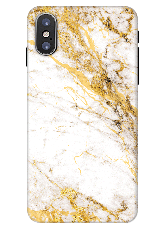 exclusive gold marble iphone x phone case personalised phone case