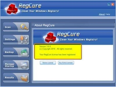 regcure pro 3.2.16