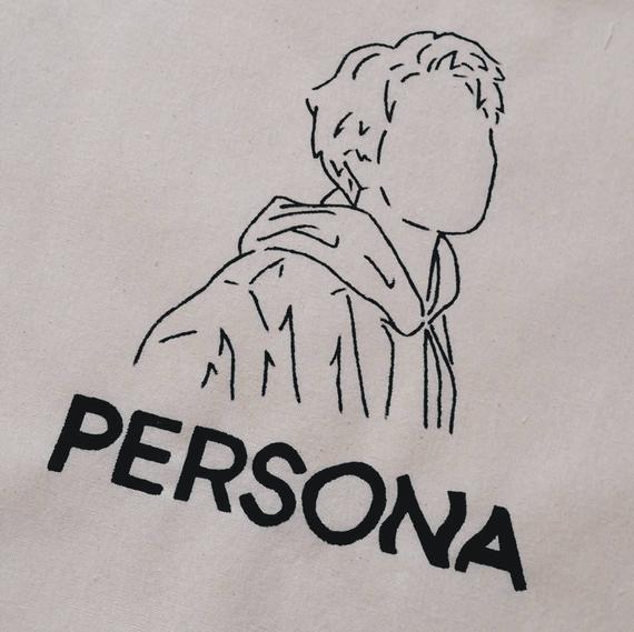 Photo of Rm / namjoon persona tote bag