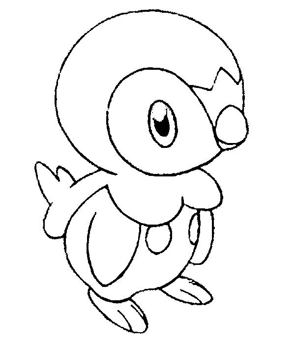 Piplup Detailed Coloring Pages Coloring Sheets Coloring Pages