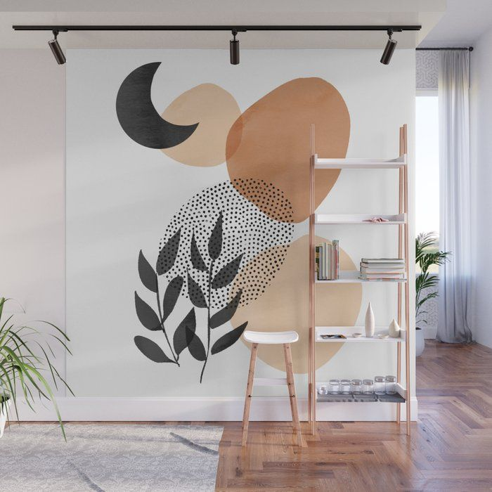 Under The Moon Wall Mural by Cafelab - 8' X 8'