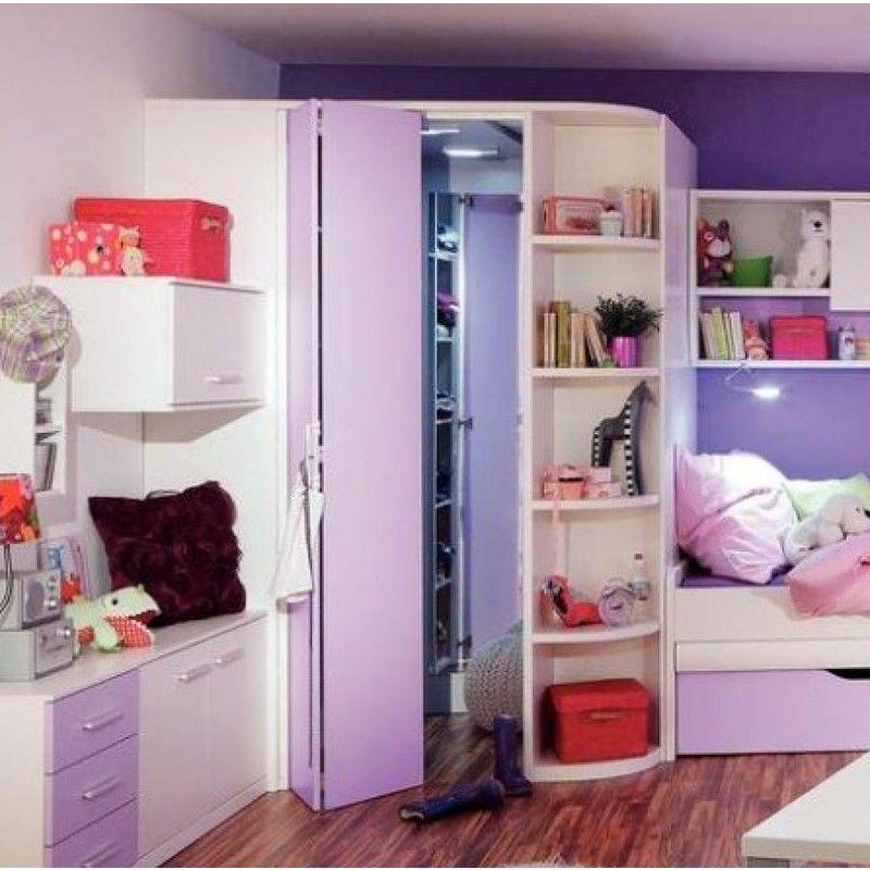 Jugend mädchenzimmer mit begehbaren kleiderschrank  E.T. Two Plus Begehbarer Eckschrank | Bútor | Pinterest ...