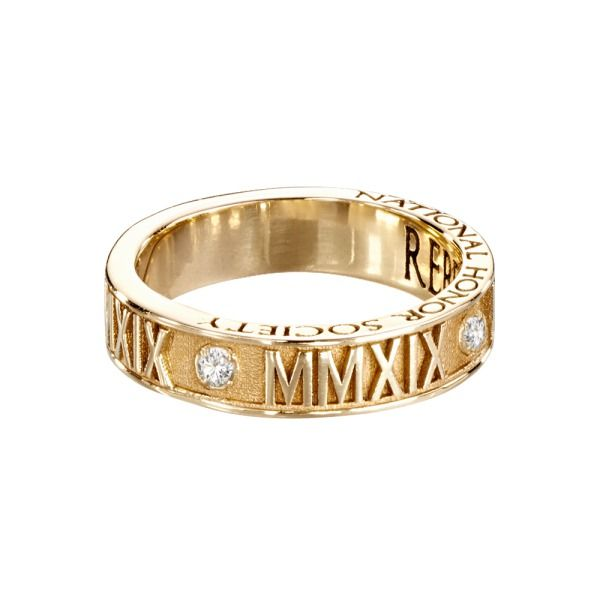 Large Roman Numeral W Stone From Jostens Luxe Collection