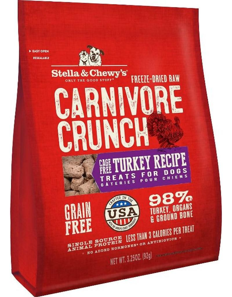 Stella & Chewy's Freeze Dried Dog Treats 3.25 oz Carnivore