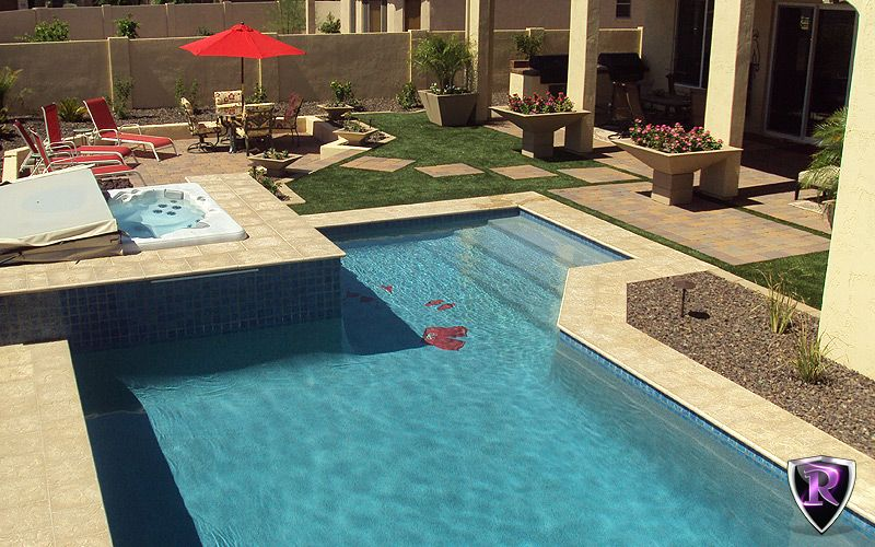 Custom Swimming Pools By Arizona Royal Landscaping And Design