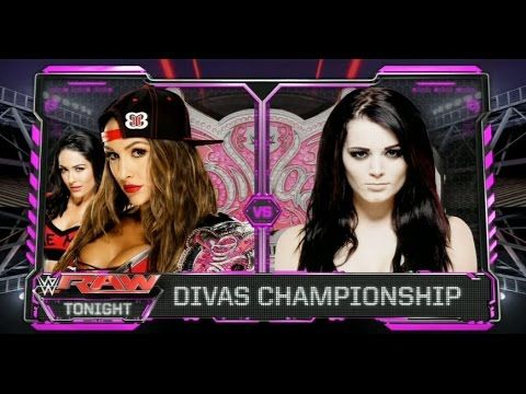 Image result for wwe raw divas match card