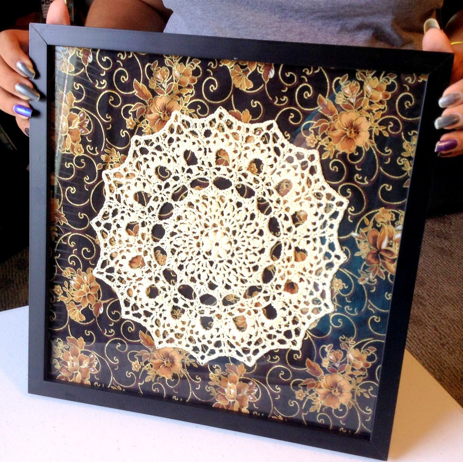 Showcase your crochet art with this how-to project | Für die Wohnung ...