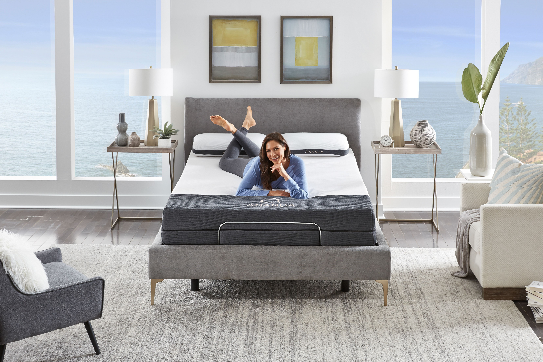 No more sliding mattresses, the Ananda Adjustable Base
