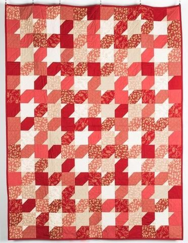 Sew a classic quilt with the Charm Saturday Quilt Kit from Moda ... : classic quilt patterns - Adamdwight.com