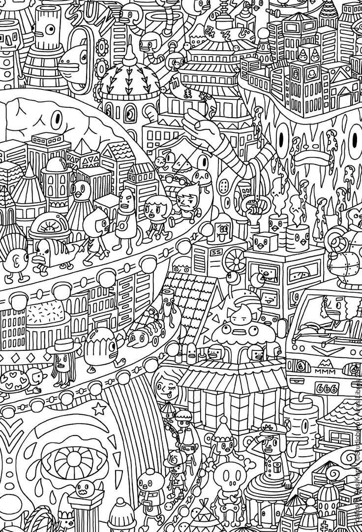 70 coloriages anti stress Google zoeken