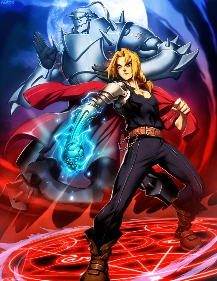 Full Metal Alchemist by *GENZOMAN on deviantART