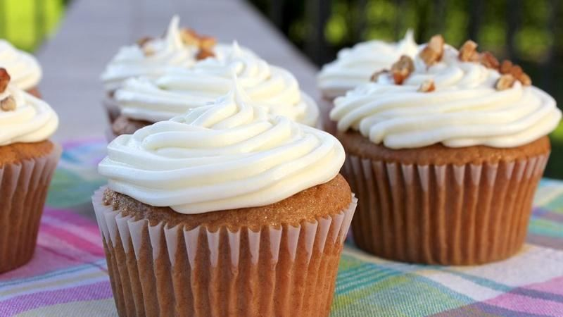 carrot cake cupcakes from box mix