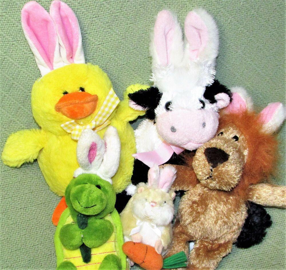 NWT Peeps Logo Candy Furry Plush Easter Bunny Rabbit Ears Headband