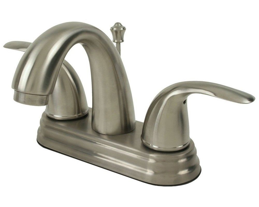 Ultra Modern Kitchen Faucets Kitchenultra Faucets Uf45013 Brushed Nickel Bathroom Lav Sink
