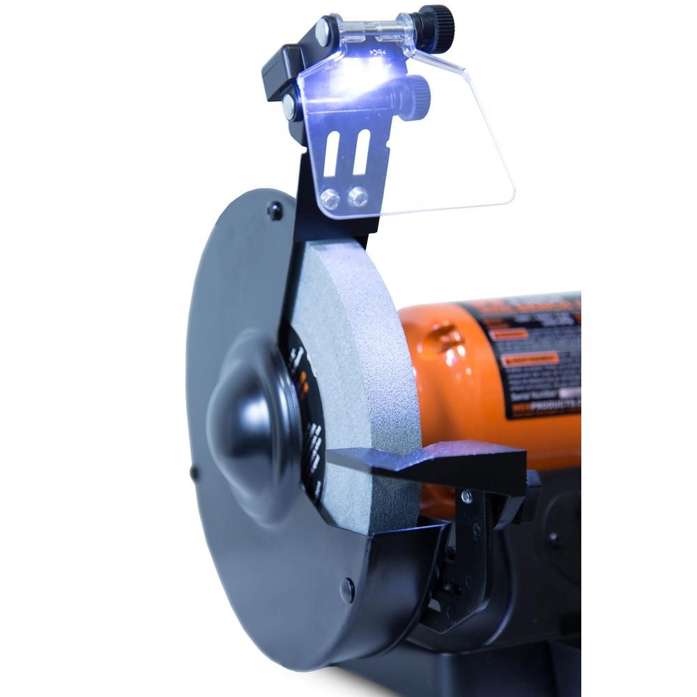 Tremendous Wen 4 8 Amp 8 Inch Bench Grinder With Led Work Lights And Caraccident5 Cool Chair Designs And Ideas Caraccident5Info