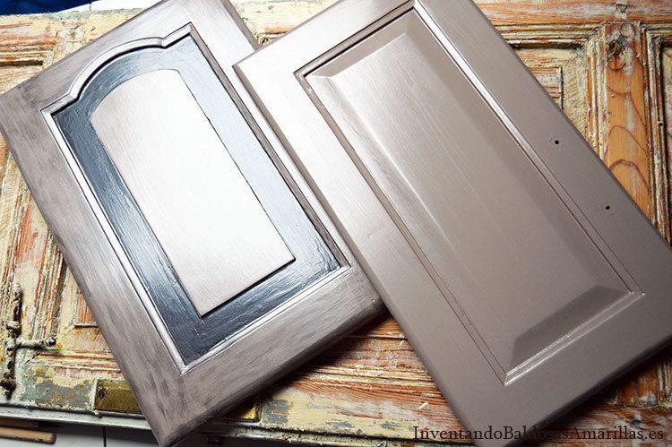 Os Mostramos Cómo Cambiar De Aspecto Una Cocina Empleando Solo Pintura Pintar La C Pintar La Cocina Pintar Gabinetes De Cocina Cómo Pintar Gabinetes De Cocina